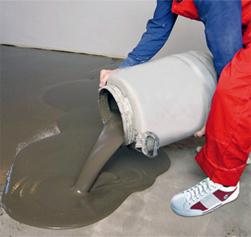 Выравнивающая смесь для бетонных полов