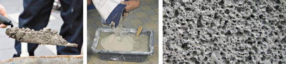 Какая плотность бетона разных марок
