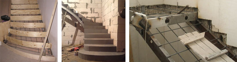 Своими руками строим бетонную лестницу