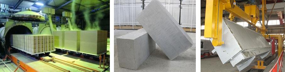 Технология изготовления газосиликатных блоков