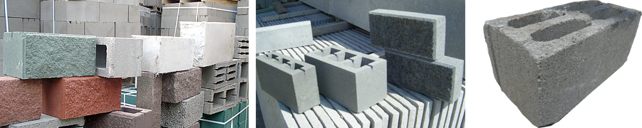 Блоки цементно-песчаные, пескобетонные, пескоцементные