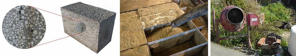 Изготовление полистиролбетонных блоков своими силами