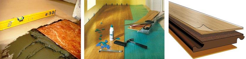 Как правильно стелить ламинат на бетон