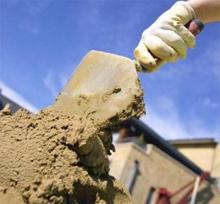Как разводят с песком цемент