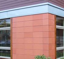 Навесной вентилируемый фасад для загородного дома