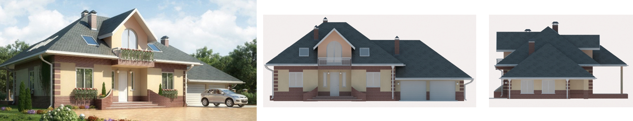 Проект пенобетонного дома - Мейсон