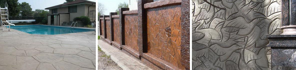 Что такое бетон декоративный