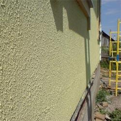 Штукатурка стен из пенобетона