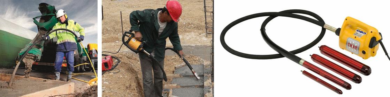 Вибратор строительный для бетона