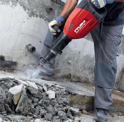 Демонтаж и снос бетона