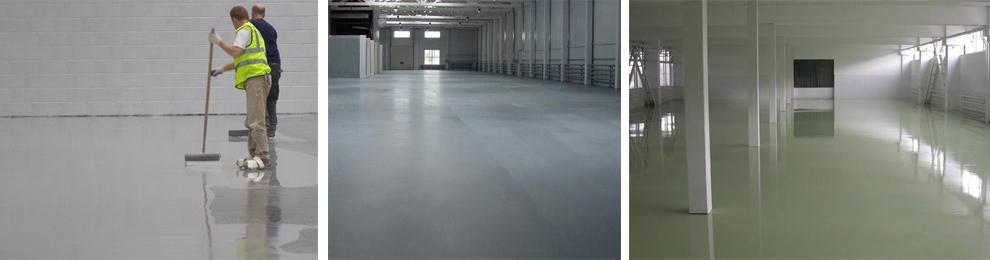 Полимерные покрытия для бетона