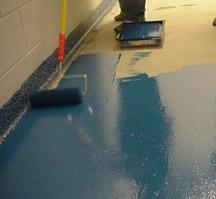 Полиуретановые краски для бетонных полов