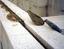 Советы по кладке стен и перегородок из блоков