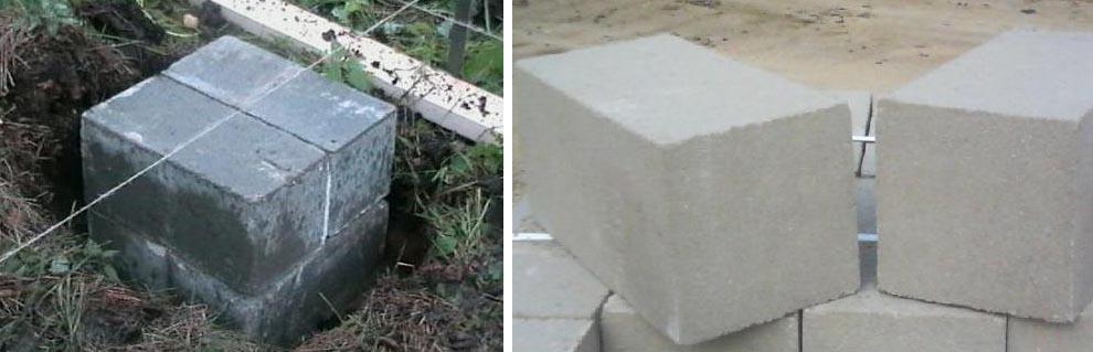 Стоимость блока 20х20х40