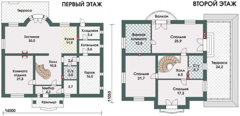 Схема дома Берндорф
