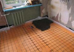 Теплоизоляция полов в квартире пеноплексом