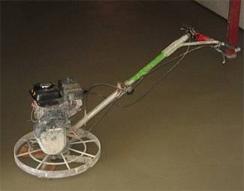 Шлифовка и затирка пола вертолетом
