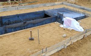 строительство фундамента гаража своими руками