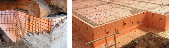 Использование теплоизоляции пеноплекс для утепления фундамента