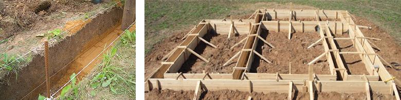 Поэтапное строительство фундамента с высоким уровнем грунтовых вод