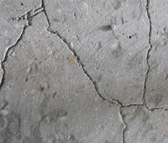 Причины трещин в бетоне после заливки