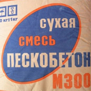 Расход пескобетона М300
