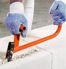 Ручной штроборез по бетону