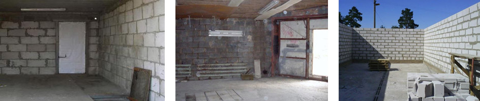 Фото как построить гараж из шлакоблоков своими руками