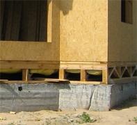Фундамент для быстровозводимого дома