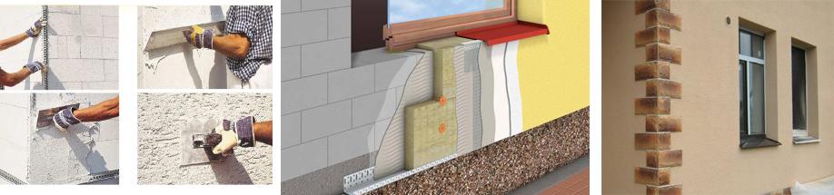 Чем штукатурить фасад дома из газобетона