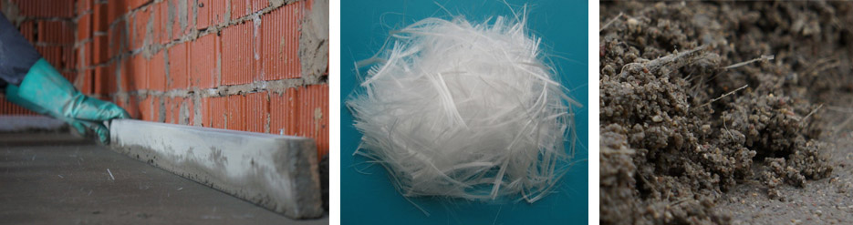 полусухая стяжка пола с фиброволокном