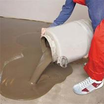 расход пескобетона на 1м2 при толщине 1 см и 5 см
