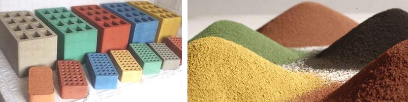 Пигменты (красители) для бетона