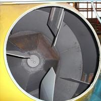 Барабан гравитационной бетономешалки