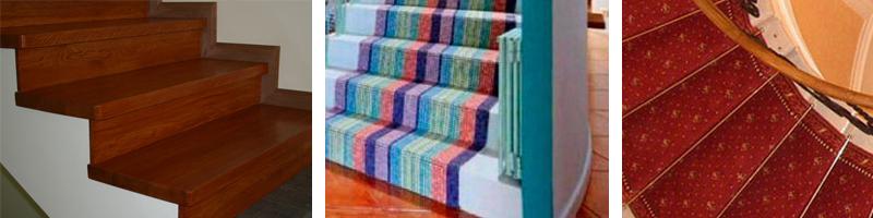 Варианты отделки лестниц