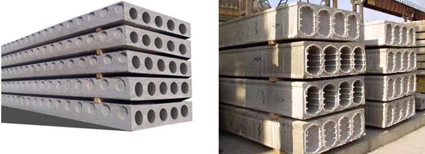 Виды бетонных плит перекрытия