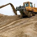 Виды и характеристики строительного песка