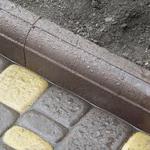Виды, характеристики и монтаж тротуарного бордюра