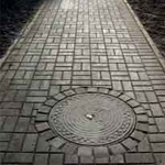 Выбор плитки для тротуара на дачу