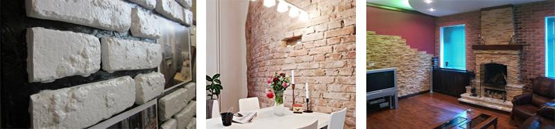 Декоративная отделка в интерьере дома