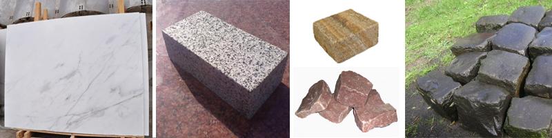 Каменные породы для изготовления брусчатки