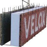 Монтаж несъемной опалубки Velox своими руками