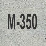 Описание и характеристики бетона марки М350