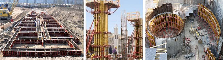 Применение оснасток Пери в строительных работах