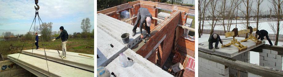 Процесс установки и монтажа плит