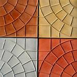 Разновидности тротуарной плитки размером 50х50 мм
