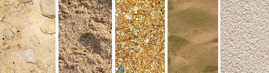 Разнообразие видов песка: карьерный, речной, намывной, дроблёный и морской