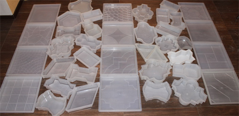 Разнообразие форм и размеров плитки