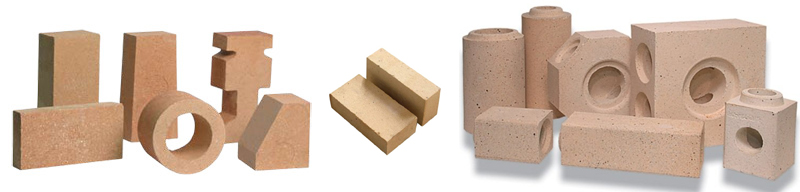 Разнообразие форм шамотного кирпича