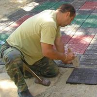 Самостоятельная укладка тротуарного камня
